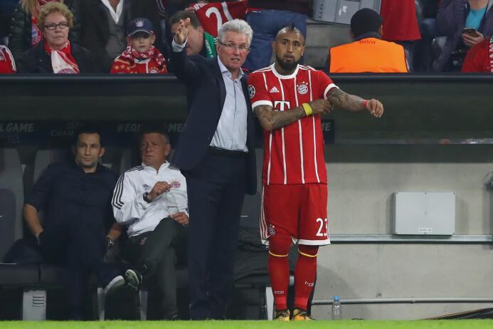 Mediocampista: Arturo Vidal (F.C. Bayern Múnich)