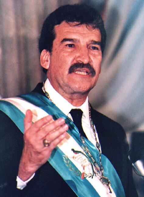 Ramiro de León Carpio, expresidente de Guatemala.