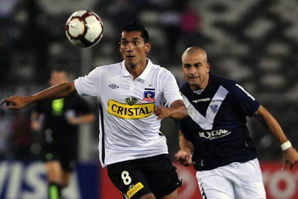 """El pelado Santiago Silva amargó al """"Cacique"""" al anotar el empate a segun..."""