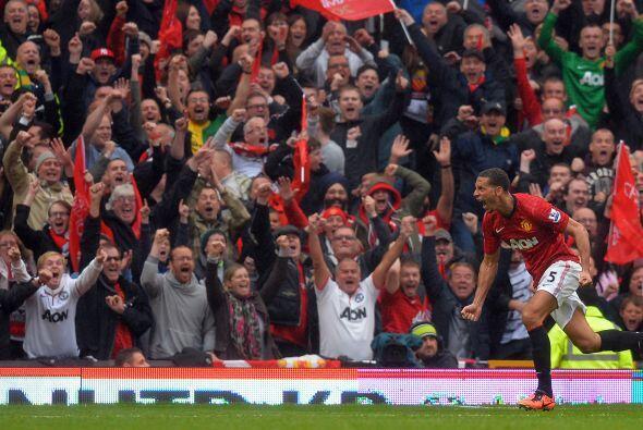 El zaguero de los 'Red Devils' marcó el tanto de la victoria sobre el Sw...