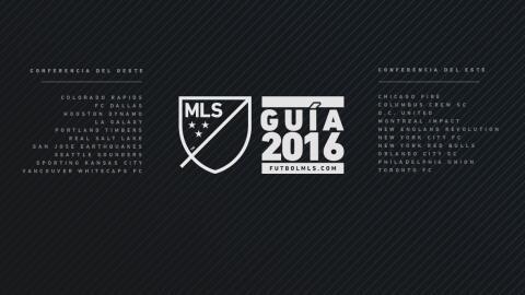 Guías 2016 de la MLS