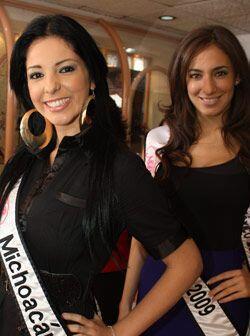 Michoacán es Itzel García Rojas y Distrito Federal, Jacqueline Tostado M...