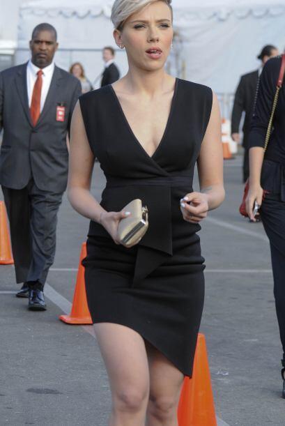 Lo cierto es que Scarlett dejó demostrado que su espectacular figura no...