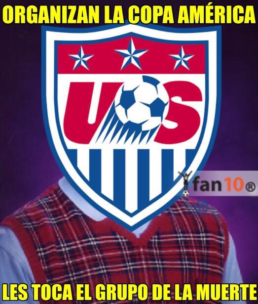 Se llevó acabo el sorteo de la Copa América Centenario y l...
