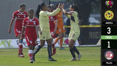 ¡Campeonas sin freno! América arranca con triunfo en la Liga MX Femenil