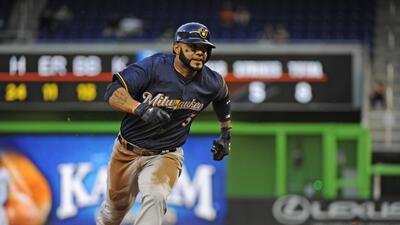 Milwaukee venció 10-2 a Miami