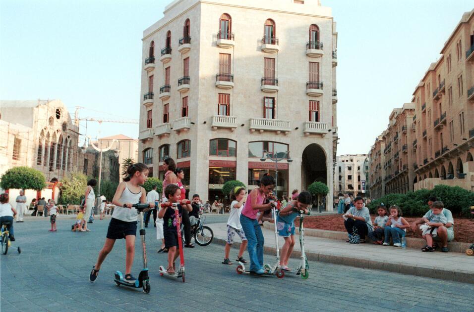 Hoy día, el centro histórico de Beirut es un símbol...