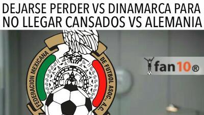 Estos son los memes después de la derrota de México 2-0 ante Dinamarca
