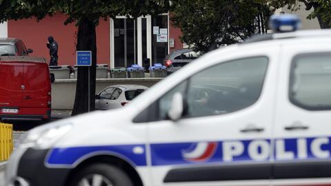 Vehículo de la policía vasca
