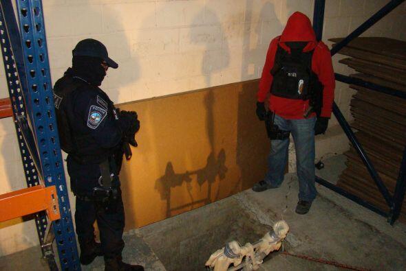 Las autoridades estadounidenses informaron que, al parecer, el narcotúne...