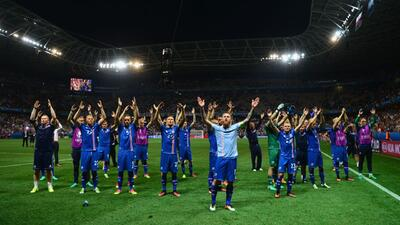 Islandia eliminó a Inglaterra de la Euro 2016.