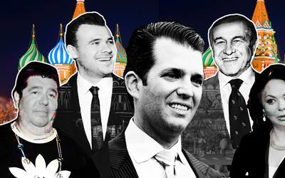 """La """"conexión rusa"""" de Donald Trump Jr: Rob Goldstone, Emin y A..."""