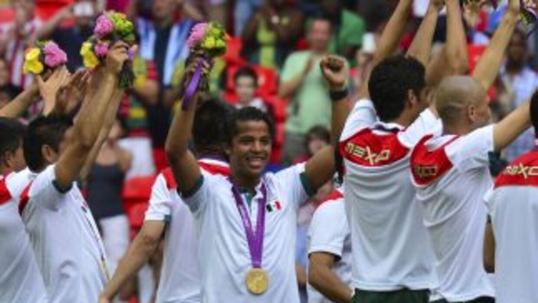 México se alzó con la medalla de oro en fútbol soccer en los juegos olím...