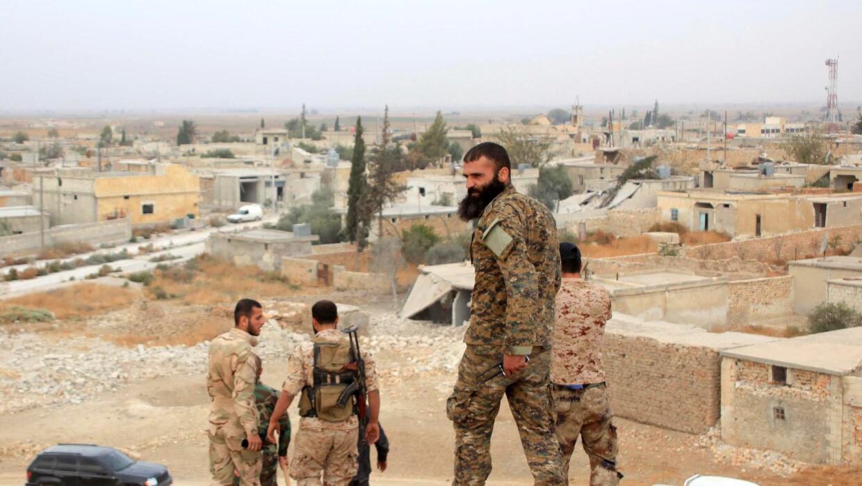 Conflicto en Siria contra el Estados Islámico