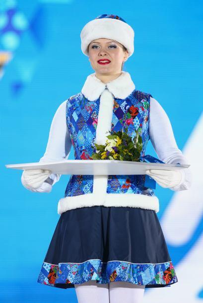 La belleza rusa también se hace presente en las chicas que entreg...