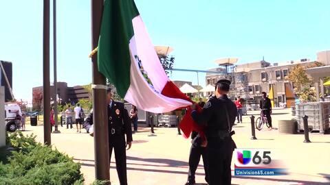 Celebración de la independencia de México en Camden