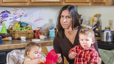El estrés de los padres podría estar detrás de la obesidad de sus hijos