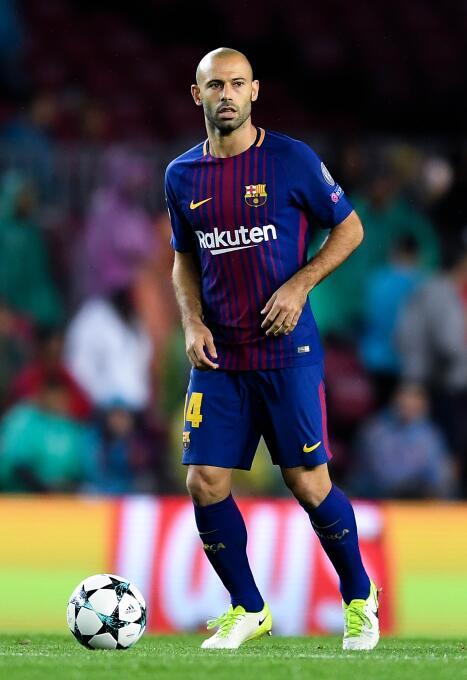 Suplente: Javier Mascherano (F.C. Barcelona)