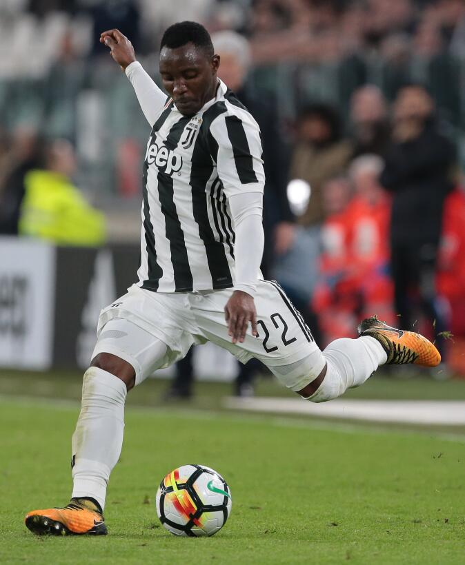 Kwadwo Asamoah - Juventus (Italia): 15,8 millones de dólares