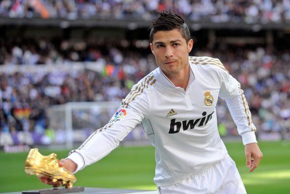 Comenzamos la delantera con el portugués Cristiano Ronaldo.