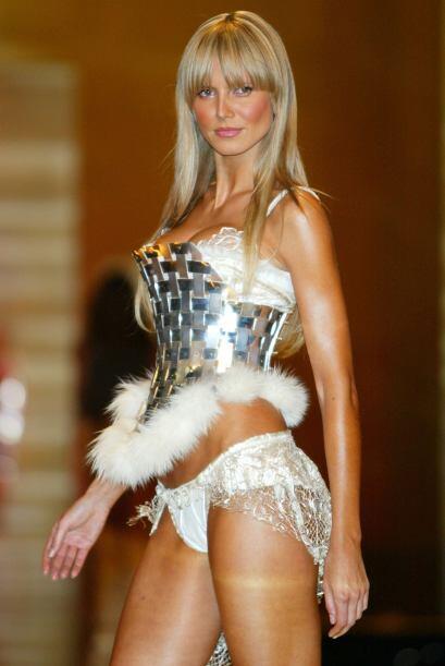 Heidi Klum se convirtió en una de las angelitas consentidas de la marca...