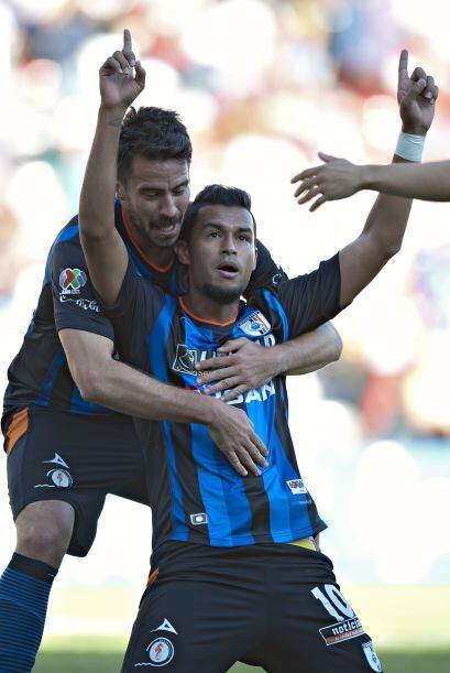 Ricardo da Silva.- Anotó los dos goles con los que Querétaro derrotó a T...