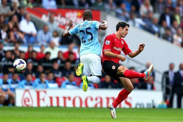 Ya en las acciones del partido, el Cardiff no tenía pensado ser la vícti...
