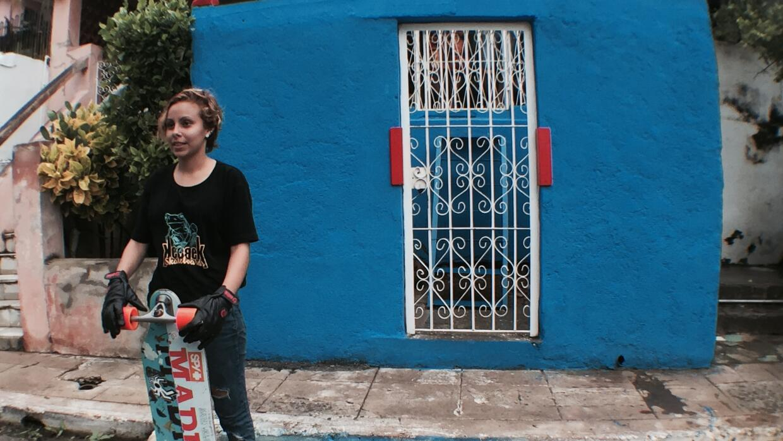 Belkis participó de una de las competencias en La Habana.
