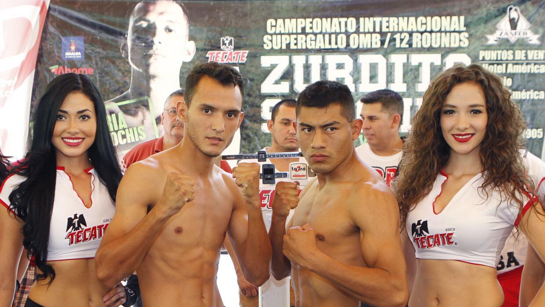 Sánchez y Juárez superaron la báscula (Foto: Zanfer).
