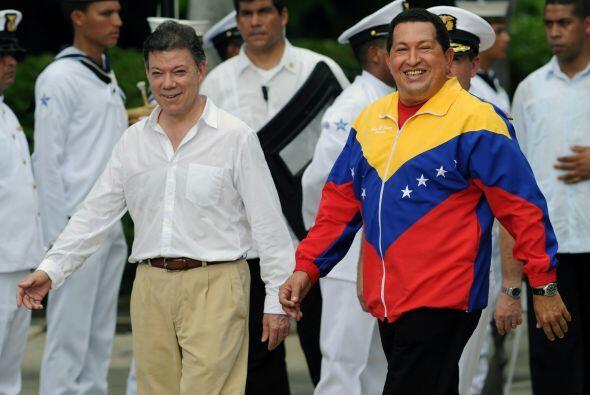 Sin embargo, con el nuevo presidente colombiano se dieron muestras de di...