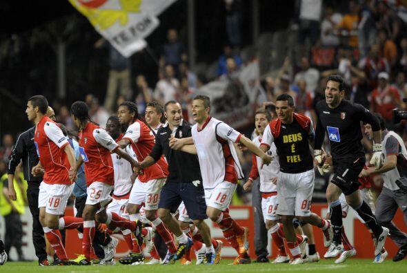 Con este, ya eran dos equipos de Portugal los que estaban en la siguient...