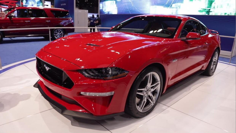 El Ford Mustang 2018 Hace Su Aparici 243 N Durante El Auto