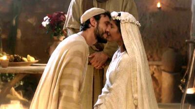 María recordó con amor su boda con José