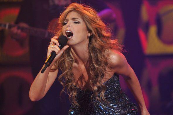 Tras cuatro años de ausencia Ana Bárbara volvió a los escenarios.