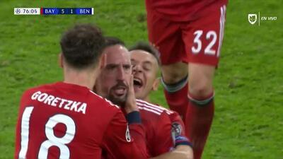 ¡GOOOL! Franck Ribéry anota para FC Bayern München