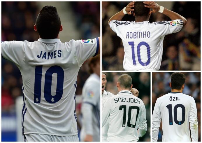 El Real Madrid alarga la maldición del número '10' ¿Quién lo heredará? 1...