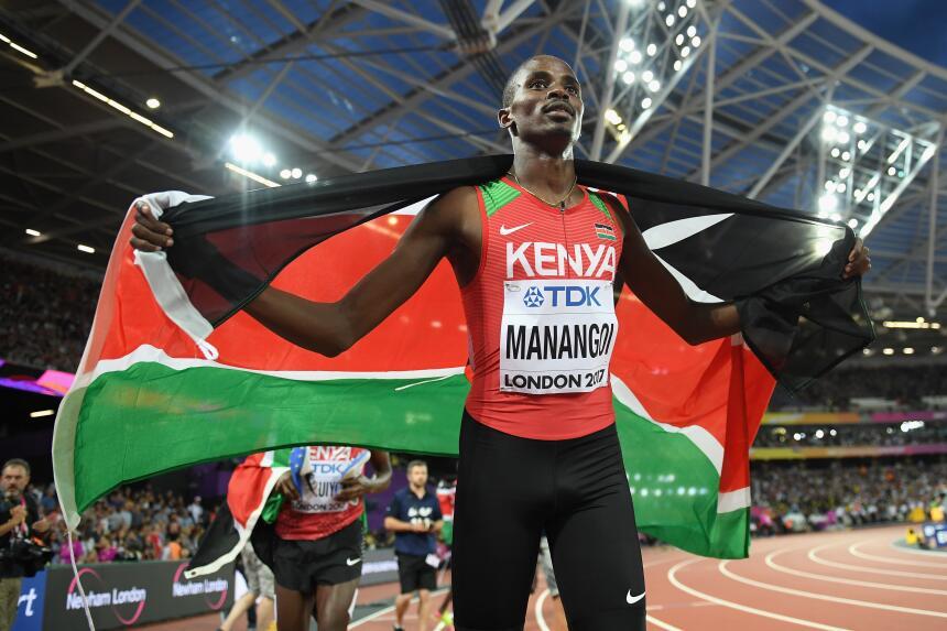Elijah Motonei Manangoi (Kenia) / 1,500 metros