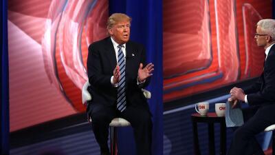 """Trump: """"No me gusta pelearme con el Papa"""" trump.jpg"""