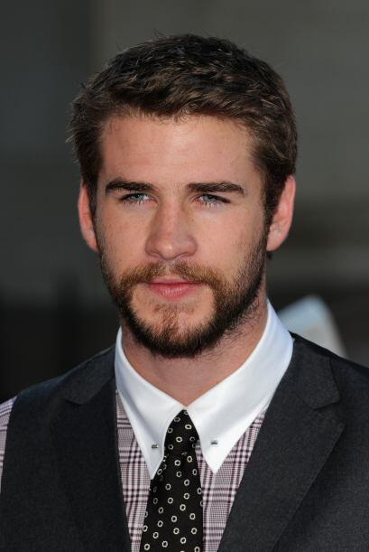 Liam Hemsworth presumió su encantadora barba.
