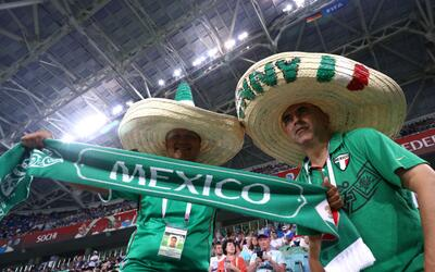 Fans Mexicanos en Rusia