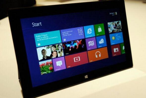 La tableta de Microsoft. A mitad de año el gigante informático Microsoft...