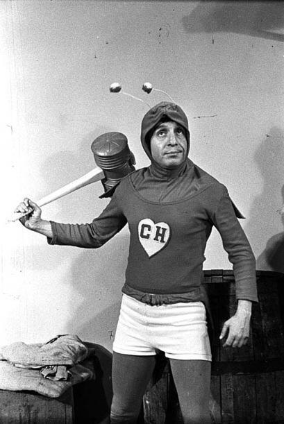 """Este actor mejor conocido como """"Chespirito"""" tuvo una larga trayectoria."""