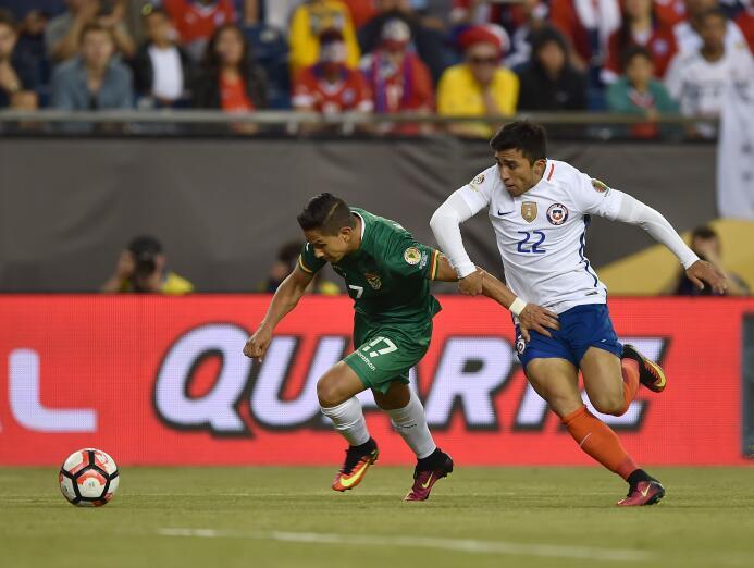 El ranking de los jugadores de Chile vs Bolivia 14-GettyImages-539306064...