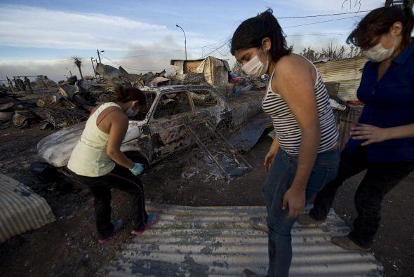 Más de 8,000 persona han perdido sus hogares, según el ministro del inte...