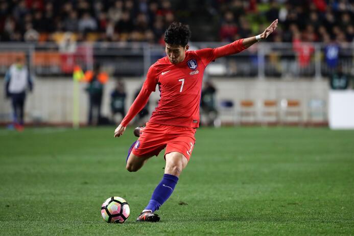 Colombia tropezó en su visita a Corea del Sur gettyimages-872463208.jpg