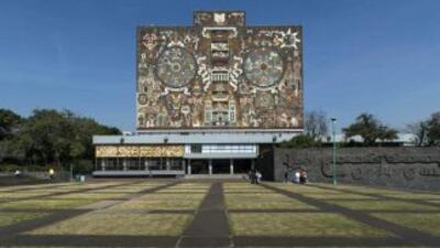 Ciudad Universitaria en la Universidad Nacional Autónoma de México.