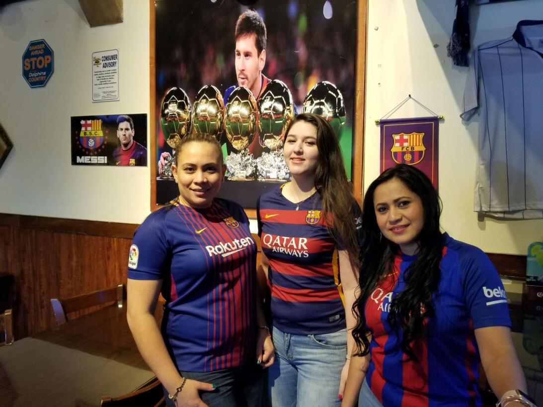 La fiesta de los fanáticos del Barcelona en Estados Unidos para la Champ...