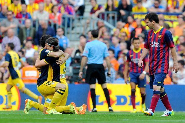 El gol hacía justicia a lo visto en el partido y a una temporada inolvid...