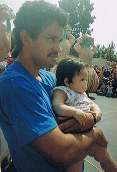 La familia Alfaro de San Bernardino, California.