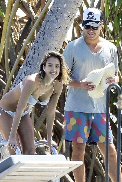 Disfrutaron de un viaje familiar en el Caribe.